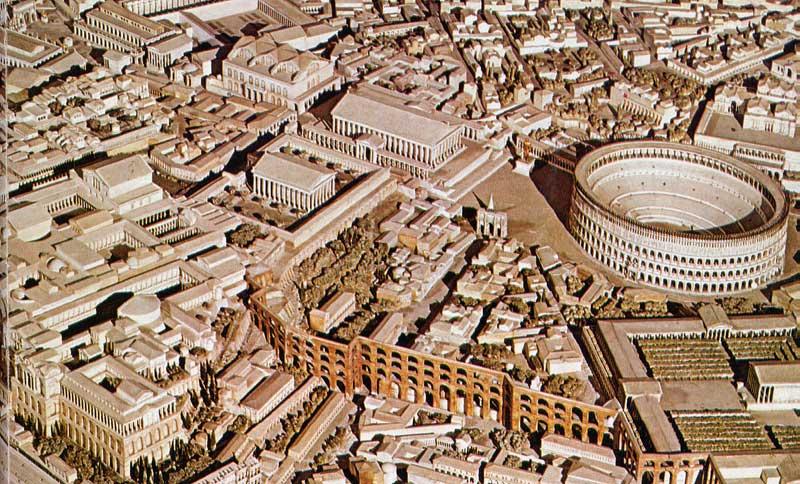 SPQR Storia di Roma antica, del Mediterraneo antico e del vicino Oriente antico - plastico Roma antica