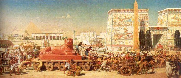 Storia di Roma antica, del Mediterraneo antico e del vicino Oriente antico - Esodo biblico