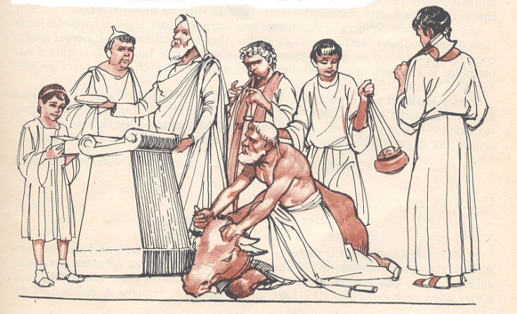 Storia di Roma antica, del Mediterraneo antico e del vicino Oriente antico - La religione tra creatio e inauguratio