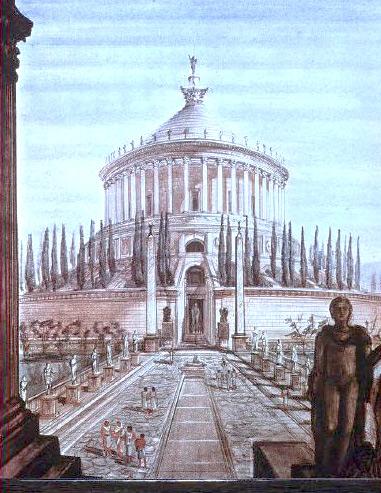 Storia di Roma antica, del Mediterraneo antico e del vicino Oriente antico - mausoleo di Augusto