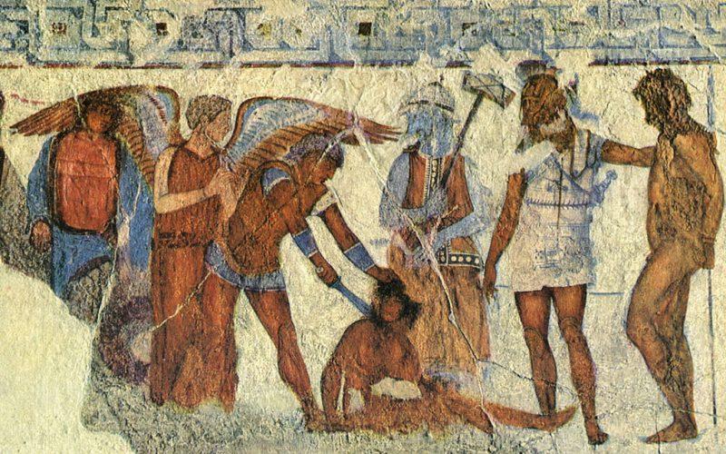 Storia di Roma antica, del Mediterraneo antico e del vicino Oriente antico - Sacrifici umani e sepolture rituali tra etruschi e romani
