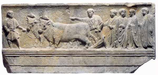 Storia di Roma antica, del Mediterraneo antico e del vicino Oriente antico - Sulcus primigenius.jpg
