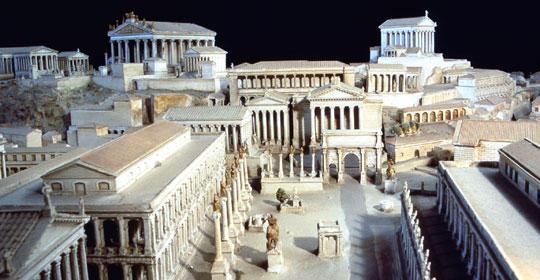 Storia di Roma antica, del Mediterraneo antico e del vicino Oriente antico - Foro Romano
