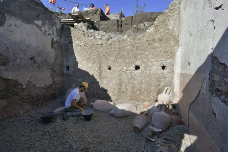 anfore vino Creta Pompei